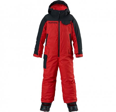 Купить Комбинезон сноубордический BURTON 2014-15 BOYS MS STRIKR O PC FANG/TRUE BLACK Детская одежда 1138310