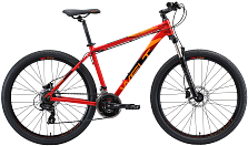 Велосипед Welt Ridge 1.0 HD 26 2020 Red/Orange/Black