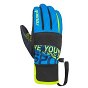 Перчатки горные REUSCH 2018-19 Reusch Ravenclaw  TOUCH-TEC black/brilliant blue