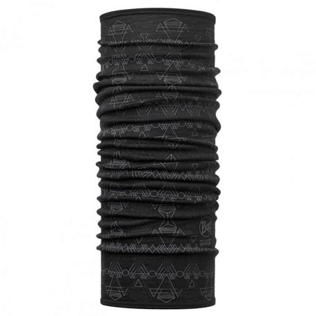 Купить Бандана BUFF MERINO WOOL DAGGER BLACK-BLACK-Standard/OD Банданы и шарфы Buff ® 1343537