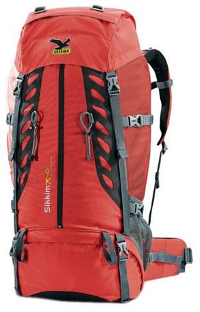 Купить Рюкзак Salewa Sikkim 70+10 (красный) Рюкзаки туристические 558950