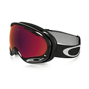 Очки Горнолыжные Oakley 2016-17 A-frame 2.0 Jet Black/prizm Torch Iridium