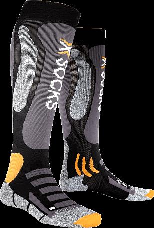 Купить Носки X-Bionic 2016-17 X-SOCKS SKI TOURING SILVER B014 / Черный 1277615