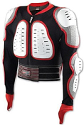 Защитная куртка NIDECKER 2020-21 Predator Safety Jacket White/Red