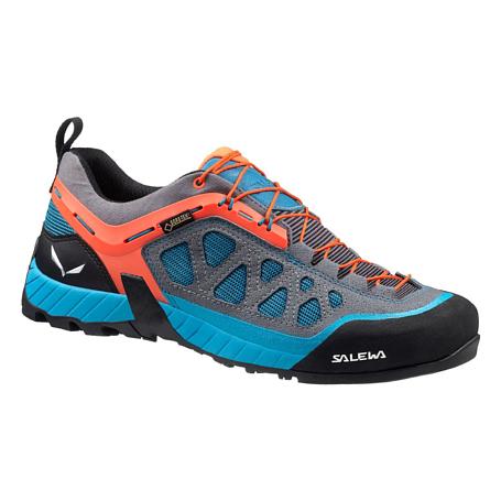 Купить Ботинки для треккинга (низкие) Salewa 2017 WS FIRETAIL 3 GTX Smoke/Iowa, Треккинговая обувь, 1240704