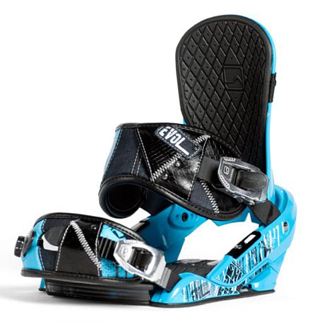 Купить Сноуборд крепления NIDECKER 2011-12 EVOL BLUE 768205