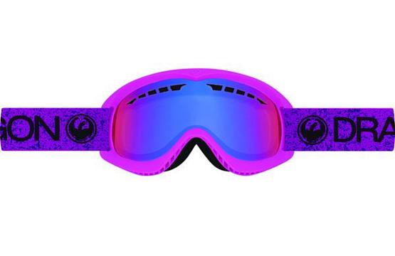 Купить Очки горнолыжные DRAGON 2016-17 DX Violet / Purple Ion 1299476