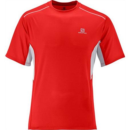 Купить Футболка беговая SALOMON 2014 START TEE M MATADOR-X WHITE, Одежда для бега и фитнеса, 1133591