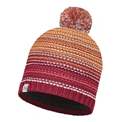 Шапка Buff KNITTED & POLAR HAT BUFF NEPER RED SAMBA