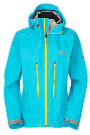 Купить Куртка туристическая THE NORTH FACE 2012-13 Summit W MERU GORE JACKET (TURQUOISE BLUE) синий Одежда 851255