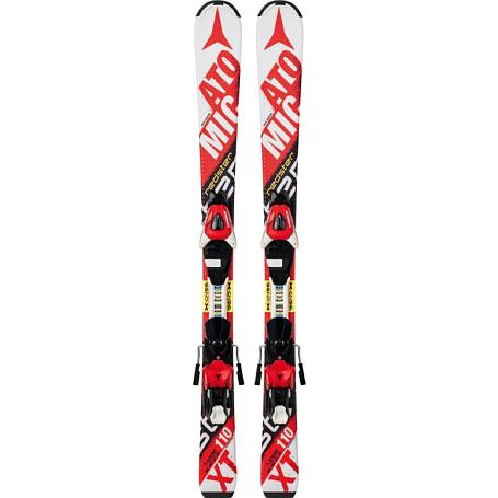 Купить Горные лыжи с креплениями ATOMIC 2014-15 Junior&Kids REDSTER JR II & XTE 045 WHITE/Red 1140238