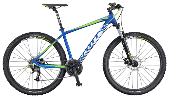 Велосипед Scott Aspect 750 blue/white/green 2016