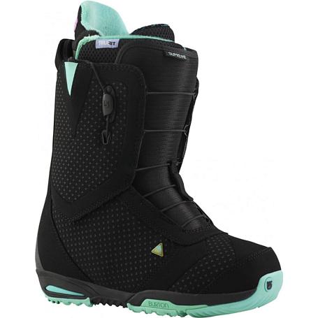 Купить Ботинки для сноуборда BURTON 2014-15 SUPREME BLACK/MINT 1134585