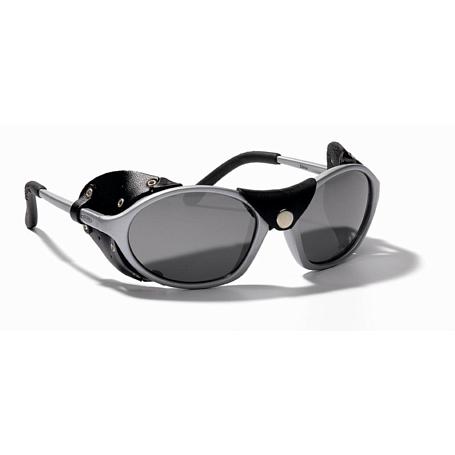 Купить Очки солнцезащитные Alpina 2018 SIBIRIA tin frame and black leather, Оптика альпинистская, 1153891