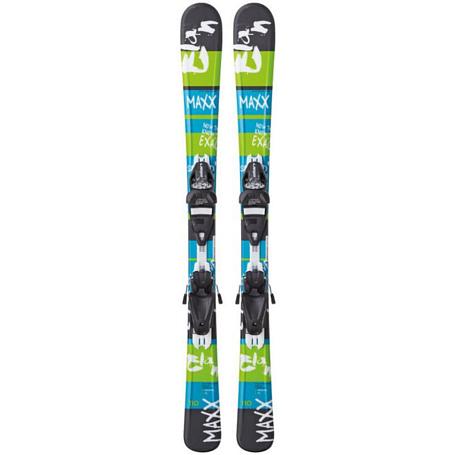 Купить Горные лыжи с креплениями Elan 2014-15 JUNIOR SERIES Maxx QT (110-120)+EL 4.5 1121289