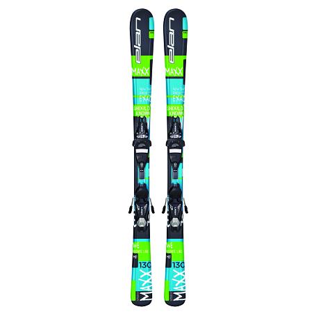 Купить Горные лыжи с креплениями Elan 2015-16 MAXX QT EL 7.5 (130-150), лыжи, 1195994