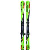 Горные лыжи с креплениями Elan 2015-16 JETT QT EL 4.5 (110-120)