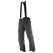 Брюки Горнолыжные Salomon 2016-17 Whitefrost Flowtec Pant M Black