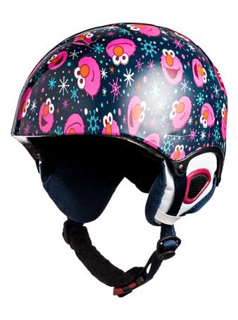 Купить Зимний Шлем ROXY 2016-17 MISTY GIRL PCK G HLMT BGM9 ELMO PRINT_BLUEPRINT Шлемы для горных лыж/сноубордов 1309385
