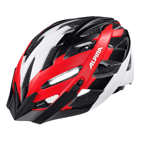 Купить Летний шлем Alpina 2016 TOUR Panoma L.E. black-white-red Шлемы велосипедные 1254721