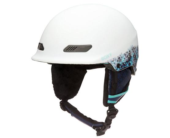 Купить Зимний Шлем ROXY 2017-18 POWER POWDER J aruba blue_kaleidos flowers, Шлемы для горных лыж/сноубордов, 1364511