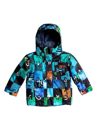 Купить Куртка сноубордическая Quiksilver 2016-17 Little Mission K SNJT BYB8 Детская одежда 1279585