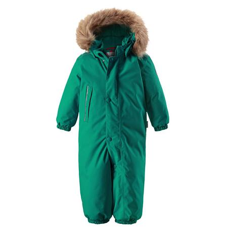 Купить Комбинезон горнолыжный Reima 2017-18 Gotland Green Детская одежда 1364907