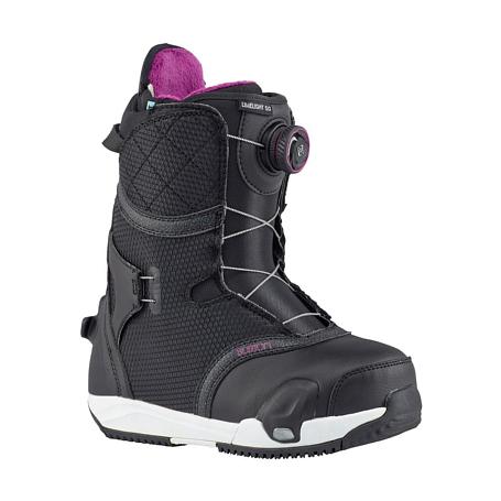 Купить Ботинки для сноуборда BURTON 2017-18 LIMELIGHT STEP ON BLACK 1371899