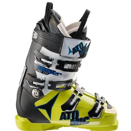 Горнолыжные ботинки ATOMIC 2014-15 FIS RACE REDSTER PRO 120 LIME GREEN S