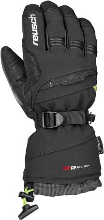 Купить Перчатки горные REUSCH 2014-15 SKI PISTE MAN Reusch Magma GTX XCR black / neon green Перчатки, варежки 1142403