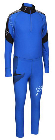 Купить Комплект беговой Bjorn Daehlie Race Suit CHARGER Junior Skydiver/Black (синий/черный), Одежда лыжная, 859469