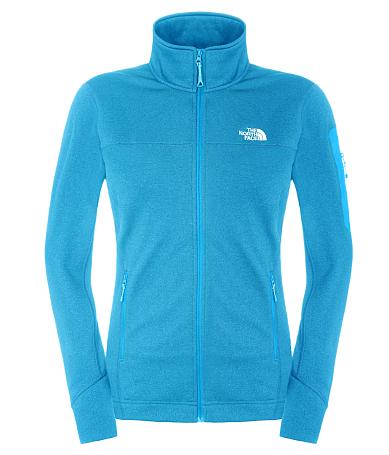 Жакет туристический THE NORTH FACE 2015 Outerwear W KYOSHI FULLZIP JKT QUILL BLUE HTHR X2L