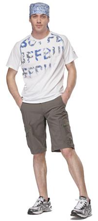 Купить Футболка беговая BUFF T-SHIRT S.SL. NEAL (WHITE) белый, Одежда для бега и фитнеса, 759606