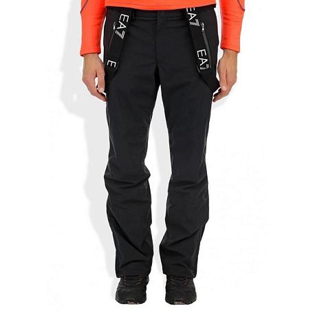 Купить Брюки горнолыжные EA7 Emporio Armani 2013-14 Performance Ski Pants MOUNTAIN SKI M PANT 3 черный, Одежда горнолыжная, 1022853