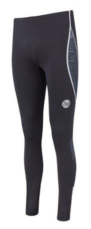 Купить Тайтсы беговые BUFF 1057 LONG TIGHT (MOONLESS) т. серый Одежда для бега и фитнеса 882660