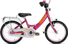 ВелосипедДо 6 лет (колеса 12-18)<br>Двухколесный велосипед Puky ZL 16-1 Alu – самый безопасный и легкий алюминиевый велосипед с низкой посадкой и очень легким ходом педалей для детей от 3 до 5 лет.&amp;nbsp;<br> <br> Двухколесные велосипеды PUKY® производятся только в Германии с 1949 года, чем обеспечивается их гарантированно высокое качество.&amp;nbsp;<br> Их дизайн и эргономика продуманы до мелочей, поэтому ребенку легче всего начать обучение на Puky.<br> <br> <br> ОСОБЕННОСТИ МОДЕЛИ<br> <br>-Рама двухколесного велосипеда Puky ZL 16-1 Alu выполнена из алюминия, что делает велосипед максимально легким. Геометрия рамы занижена, чтобы ребенку было легче садиться на велосипед.&amp;nbsp;<br>-Рама окрашена с помощью порошковой технологии, что гарантирует повышенную износоустойчивость. Такому покрытию не страшны яркий солнечный свет и падения на асфальт. Сварные швы на раме аккуратные и надежные, что обеспечивает устойчивость к нагрузкам во время катания.&amp;nbsp;<br>-Колеса, рулевая вилка и педали велосипеда содержат высококачественные шарикоподшипники, что гарантирует отличную управляемость, легкий ход педалей и быстрое обучение. Мы не рекомендуем использовать приставные колеса, поскольку велосипеды Puky настолько легкие, что ребенок может научиться кататься за 1-2 прогулки без дополнительных колес. При желании приставные колеса Puky ST ZL 9625 можно приобрести отдельно.&amp;nbsp;<br>-У двухколесного велосипеда Puky ZL 16-1 Alu колеса диаметром 16'' с высококачественными пневматическими шинами IMPAC. Колеса закрыты крыльями, оберегающими одежду ребенка от брызг с колес.<br>-Немецкие конструкторы особое внимание уделяют безопасности. В комплект Puky для безопасной езды на велосипеде входит защита цепи, пластиковая окантовка переднего крыла SKS, передний и задний светоотражатели, безопасные грипсы и окантовка руля, звонок и флажок безопасности.<br>-Также велосипед укомплектован подставкой для парковки и багажником. К велосипеду Puky ничего не нужно покупать отдельно, по