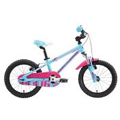 ВелосипедДо 6 лет (колеса 12-18)<br>&amp;nbsp; &amp;nbsp;&amp;nbsp;Велосипед для девочек от 3 до 5 лет. Для безопасности Senza 16 оборудован дополнительными страховочными колесами, которые легко демонтируются, когда в них пропадает необходимость. Легкая алюминиевая рама, седло Silverback Comfort Fit, колеса диаметром 16 дюймов и широкие металлические крылья.<br> &amp;nbsp; &amp;nbsp;&amp;nbsp;Кроме основных элементов, инженеры уделили внимание и небольшим деталям. Так, для большей безопасности рукоятки руля имеют специальные расширения на концах, которые не позволят рукам ребенка соскочить с руля, цепь и звездочки закрыты специальной защитой, исключающей возможность попадания внутрь частей тела или одежды ребенка.