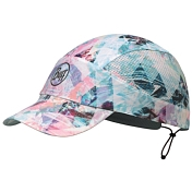 Кепка BUFF Pack Run Cap Patterned R-Irised Aqua