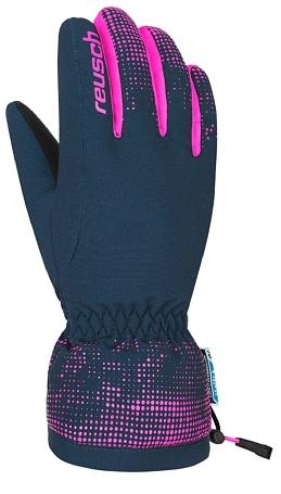 Купить Перчатки горные REUSCH 2017-18 Reusch Xaver R-Tex XT Junior dress blue / pink glo Перчатки, варежки 1373863