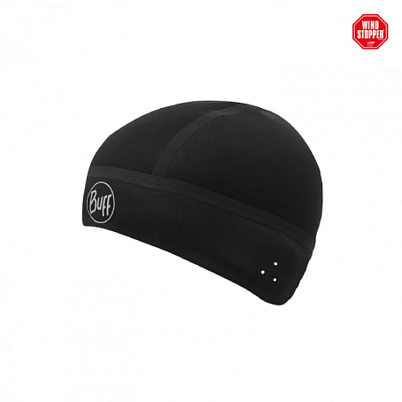 Купить Шапка BUFF WINDPROOF HAT SOLID BLACK M/L Банданы и шарфы Buff ® 1263674