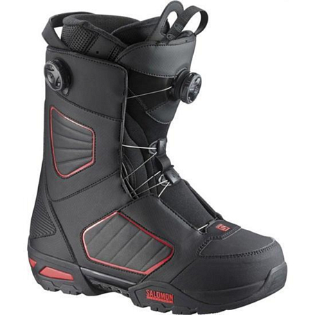 Ботинки для сноуборда SALOMON 2014-15 SYNAPSE FOCUS BOA BLACK/BLACK/RED