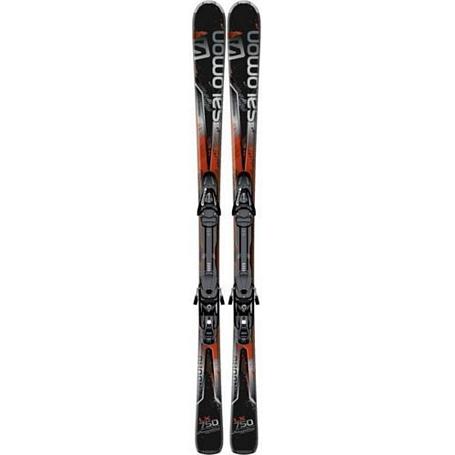 Купить Горные лыжи с креплениями SALOMON 2013-14 H Enduro LX 750 + JL10 B80 black/red 901320