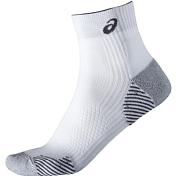НоскиНоски<br>Легкие носки для бега<br> <br> - Носки Asics 2017 RUNNING DENSITY CUSHIONING SOCK Белый<br> - Сохраняют сухость и комфорт ваших ног за счет ткани с влаговыводящими свойствами,&amp;nbsp;<br> - Смягчают движение за счет поглощения удара при приземлении и отталкивании<br> - Плоские швы