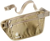 КошелекКошельки<br>Deuter Security Money Belt это пояс-кошелек телесного или черного цвета, плоский, очень гладкий; его можно носить под одеждой, либо поверх. Позволяет в безопасности хранить документы, деньги и пластиковые карты. Тыльная сторона выполнена из приятного на ощупь мягкого сетчатого материала.<br><br>Особенности:<br>- два кармана на молнии<br>- регулируемый поясной ремень<br>- легко стирать &amp;#40;ручная стирка&amp;#41;<br>- материал Microrip Lite,<br>- вес 45 г<br>- размеры 13х26 см