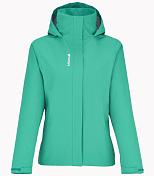 Куртка для активного отдыхаОдежда для активного отдыха<br>Самая популярная куртка из летней коллекции Lafuma. Эта куртка с мембраной CLIMACTIVE 5 000 мм / 5 000 г/v2/24ч подходит и для активного отдыха и для города. Капюшон убирается в воротник, подкладка из сетчатого материала, молния закрыта планкой. Ткань очень мягкая .<br><br>Пол: Женский<br>Возраст: Взрослый