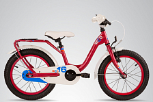 ВелосипедДо 6 лет (колеса 12-18)<br>Детский велосипед, рассчитанный на детей ростом от 100 см и возрастом от 3-х лет. Особая геометрия рамы, разработанная специально для девочек, обеспечивает удобную и безопасную посадку на велосипед. Модель представляет собой, более экономичный вариант niXe 16, обладая всеми его достоинствами: руль регулируется по высоте, на цепи установлена защита для предотвращения попадания одежды, полноразмерные крылья защищают ребенка от грязи, а боковые колеса, которые легко установить и снять, будут незаменимы для начинающих велосипедисток. Стильные расцветки велосипеда обязательно понравятся детям, а прекрасное сочетание цены и качества – родителям!<br><br>Вес: 10,3 kg<br>Размер колёс: 16<br>Рама велосипеда: 6061 Aluminium<br>Вилка: HiTen<br>Тип тормозов: V-brake<br>Количество скоростей: 1<br>Задний переключатель: нет<br>Руль: Junior Uprise 500 mm black<br>Обмотка руля / грипсы: Softgrip 100 mm buffle protection<br>Вынос: with Crash pad<br>Тормозные ручки: Kids ajustable<br>Передний тормоз: V-Brake&amp;#43;Power Adjuster<br>Задний тормоз: POWER Coaster brake<br>Передняя втулка: S&amp;#39;COOL steel black<br>Задняя втулка: POWER Coaster brake, black<br>Обода колес: alloy color<br>Покрышки: S&amp;#39;COOL Kids 16 x 2,25<br>Кассета: 16 T<br>Каретка: CC-886, Ball Bearing<br>Система: SHUN 28 T, 114 mm, black<br>Педали: HF-316 mit Reflektoren with reflectors<br>Крылья: S'COOL Junior Design steel color<br>Подседельный штырь: steel, black<br>Модель: niXe 16 steel &amp;#40;2016&amp;#41;<br>Размер: OneSize<br><br>Пол: Унисекс<br>Возраст: Детский