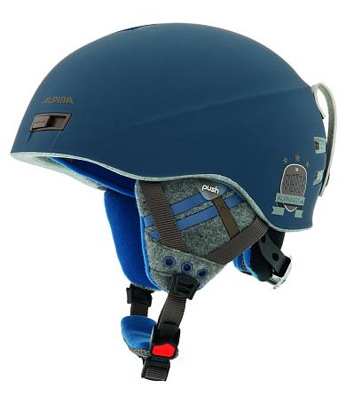 Купить Зимний Шлем Alpina 2015-16 FREERIDE MENGA blue matt Шлемы для горных лыж/сноубордов 1172551
