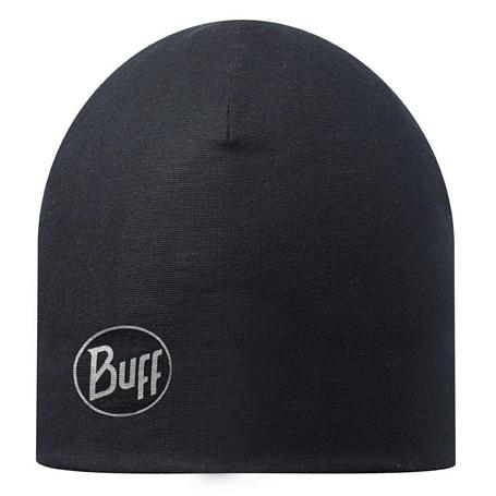 Купить Шапка BUFF MICROFIBER & POLAR HAT SOLID BLACK Банданы и шарфы Buff ® 1169305