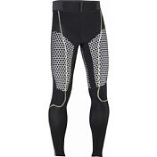Тайцы беговыеОдежда для бега и фитнеса<br>Сверхлегкая ткань в сочетании с технологией EXO обеспечивает<br>поддержку мышц в ключевых зонах, а также усиленные коленные<br>вставки для максимально комфортного катания.<br>• Плоские швы<br>Состав Основная ткань: полиамид 80%, эластан 20%<br>Покрой Облегающий Skin Fit<br><br>Пол: Мужской<br>Возраст: Взрослый<br>Вид: брюки