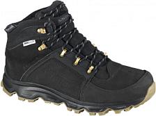 Ботинки городские (высокие)Обувь для города<br>Теплые кожаные ботинки Salomon Rodeo высотой 3/4 с не стесняющей движений подошвой выполнены в городском стиле и надежно защищают от холода.<br><br>Представьте себе теплые зимние ботинки, напоминающие чукки для верховой езды, которые имеют промежуточную подошву natural motion и отлично держат на снежной или ледяной поверхности. Rodeo - именно такая обувь, дополненная водонепроницаемой мембраной climashield™ и подошвой Winter Contagrip® с агрессивным рисунком. Они подойдут к модной клетчатой рубашке и джинсам и в то же время отлично справятся со всеми испытаниями предстоящей зимы.Теплые высокие ботинки в урбанистическом стиле с кожаным верхом и удобной подошвой, обеспечивающей естественность движения.<br><br>Сезон : Зима<br>Тип: Ботинки<br>Материал: Натуральная кожа,Натуральный нубук<br>Коллекция: Осень-Зима 2013<br>Дизайн: designed in France<br>Высота каблука: Плоская подошва<br>Подошва: Резина<br>Стелька: Утеплитель<br><br>Пол: Мужской<br>Возраст: Взрослый